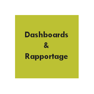 Dashboards & raportage